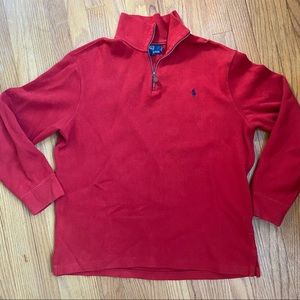 Red Ralph Lauren Polo Men's Sweater